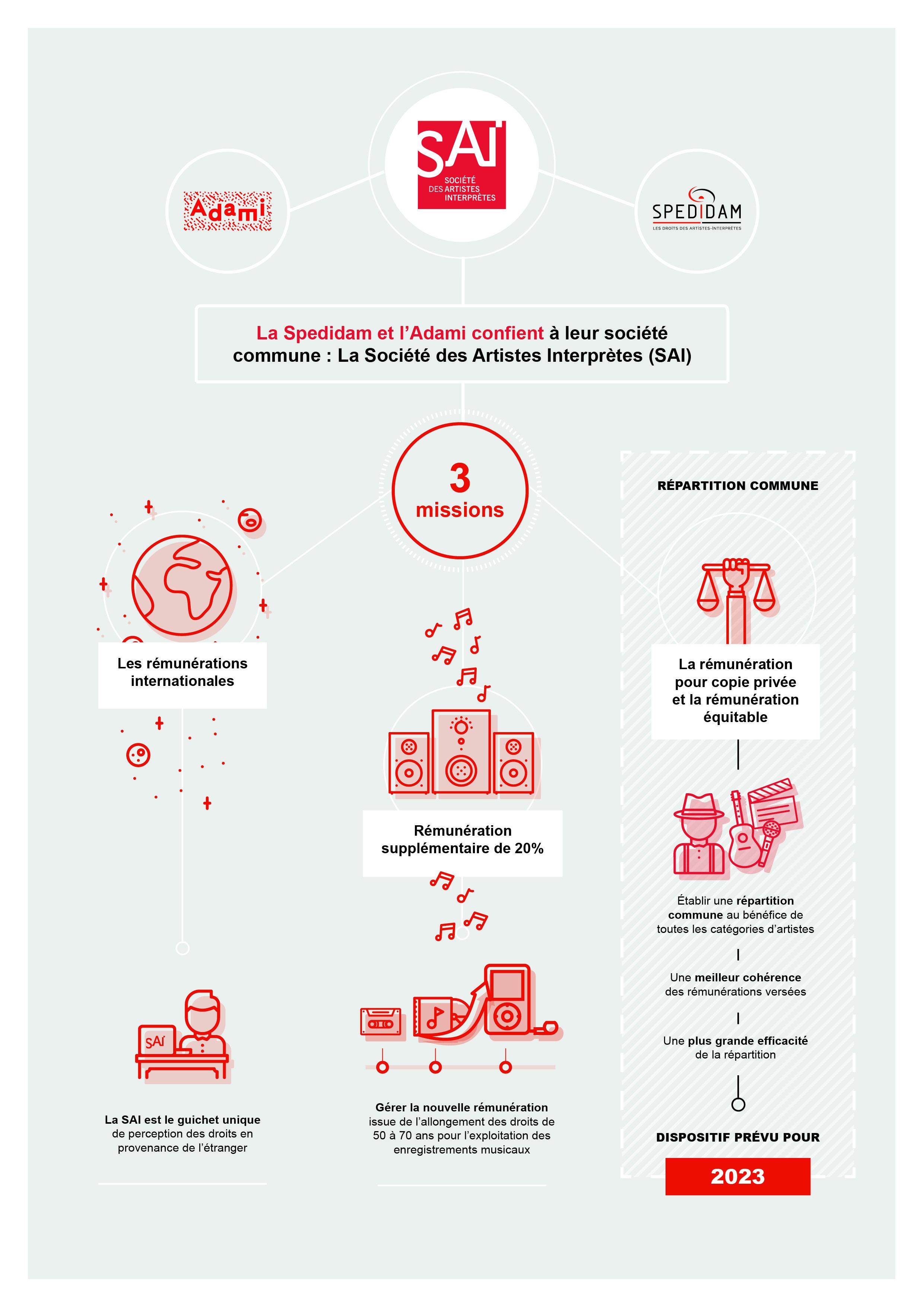 Infographie présentation de la SAI